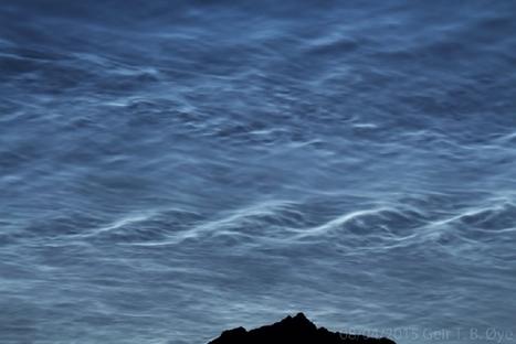 mer de nuages #noctulescents en #Norvège près d'Ålesund   Hurtigruten Arctique Antarctique   Scoop.it