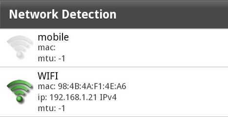 Andrew Trice » Blog Archive » Mobile (3G) vs. WIFI Network Detection with Adobe AIR | Everything about Flash | Scoop.it