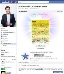 """""""Fan de la semana"""" una app para aumentar la participación en las Fan Page   Un milimetro más allá   Scoop.it"""
