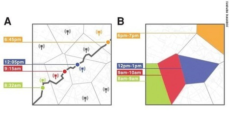How your movements create a GPS 'fingerprint' | Higher Education & Privacy | Scoop.it