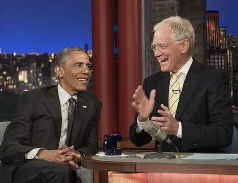 President Obama Wants to Retire with David Letterman - I4U News | Politics Daily News | Scoop.it