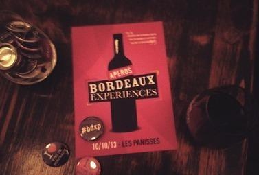 Les Apéros Bordeaux Expériences, on y était ! - Magazine du vin - Mon Vigneron | Agenda du vin | Scoop.it