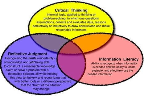 A Developmental View of Information Literacy | Supporting the Digital Practitioner | Scoop.it