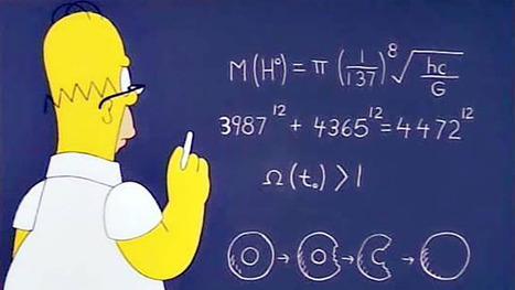 Homer Simpson est passé tout près du Boson de Higgs et du Nobel | Science | Scoop.it