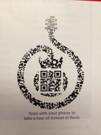 Rock it out with QR Codes | QRdressCode | Scoop.it
