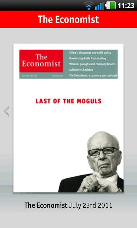 The Economist - Download Android Apps : Android Community - For Application Development | Android Apps | Scoop.it