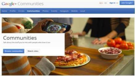 5 ways to leverage Google+ Communities - Malhar Barai | Quick Social Media | Scoop.it
