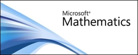 Conhece o Microsoft Mathematics? Não?! Então este workshop é para si! - estuda na net | Matemática e não só! | Scoop.it