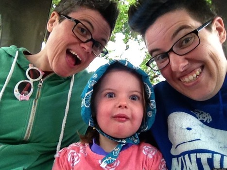 What I Know About Motherhood Now That I Am A Lesbian Mom | Gay Parenting | Scoop.it