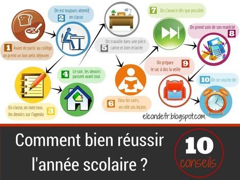 El Conde. fr: Comment bien réusssir l'année scolaire | le français: ma passion | Scoop.it