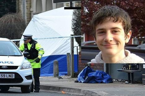 Laughing Muslim savage stabs British teenager to death in the street | Race & Crime UK | Scoop.it