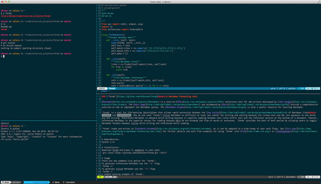 The Text Triumvirate (zsh, vim and tmux) | neta | Scoop.it