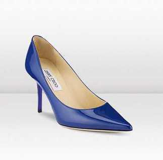 Jimmy Choo Agnes Patent Leather Heels Bright Blue discount wholesale | oil painting | Scoop.it