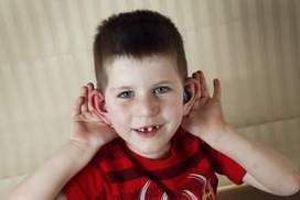 Magic ears help deaf Liam into mainstream school - The Canberra Times | Video conference Room Acoustics | Scoop.it
