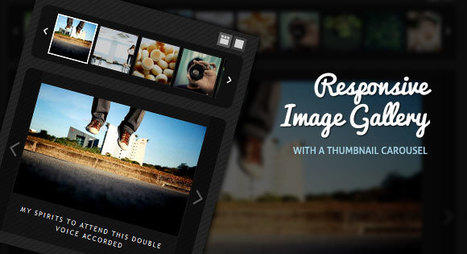 Responsive Image Gallery with Thumbnail Carousel | Slideshow & Carousel Jquery | Scoop.it