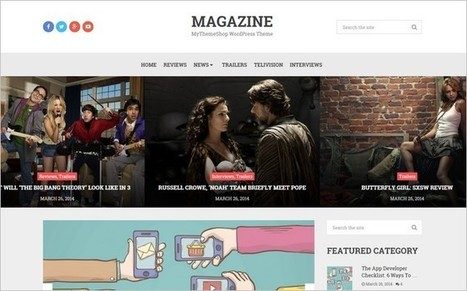 Magazine - A Trendy WordPress Theme for Bloggers by MyThemeShop | Free & Premium WordPress Themes | Scoop.it
