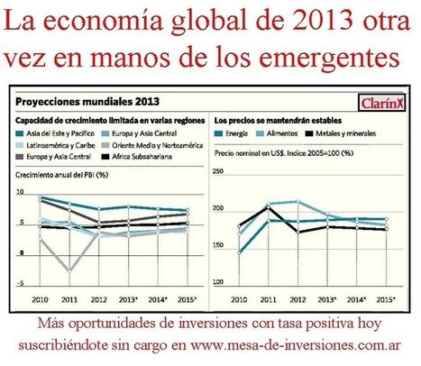 La economía global de 2013 otra vez en manos de los emergentes ... | MACROECONOMIA (UMG) | Scoop.it