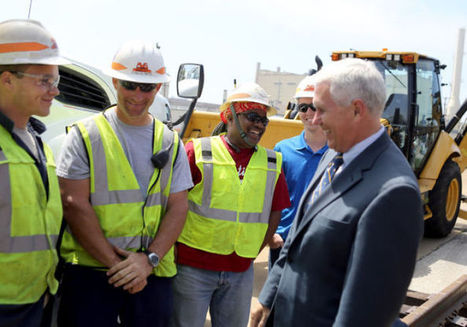 Pence touts Indiana Gateway high-speed rail link - nwitimes.com | Passenger Rail Resurgence in the U.S. | Scoop.it