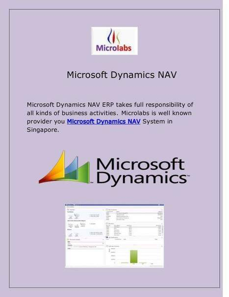 Microsoft Dynamics NAV | Microlabs | Scoop.it