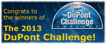 The DuPont Challenge – Winners Announcement | STEM Education models and innovations with Gaming | Scoop.it