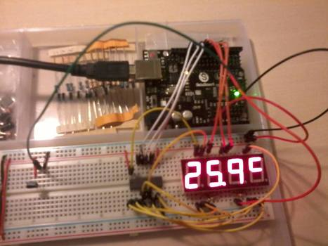 Sainsmart uno starter kit thermometer | Arduino&Raspberry Pi Projects | Scoop.it