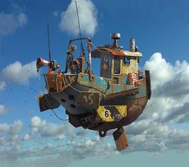 Ian McQue | Artistas e ilustradores digitales | Scoop.it