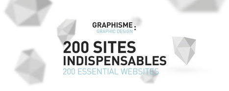 Graphisme : 200 sites indispensables / Graphic design : 200 Essential Websites | Web Increase | Scoop.it