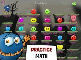 The Popular Monster Math App Is Free Today Grab It ~ Educational Technology and Mobile Learning | Digital TSL | Scoop.it