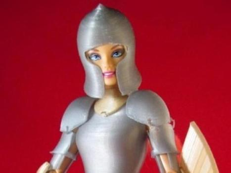 Prepare Barbie for battle with 3D-printed armor | Rhino'school Italy, la scuola italiana di Rhino 3d | Scoop.it