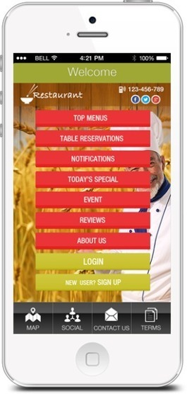 How Can Restaurants Owners Utilize iphone Apps to manage their Customers? | Apps For Company | Scoop.it