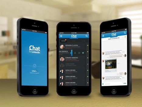 The brand new look of Chat for LinkedIn... Much more faster and stable. Coming soon! | Blink Chat for LinkedIn™ | Scoop.it