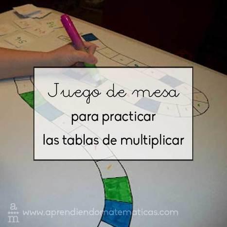 Juego de mesa para practicar las tablas de multiplicar - Aprendiendo matemáticas | EDUCACIÓN en Puerto TIC | Scoop.it