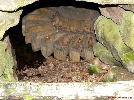 Le moulin à cuillers de Louzelergue - MARCHOUCREUSE 23800 | pierresèche | Scoop.it