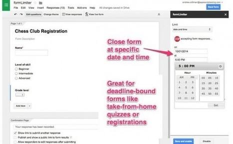 Los formularios de Google ahora pueden tener extensiones de terceros   Educacion, ecologia y TIC   Scoop.it