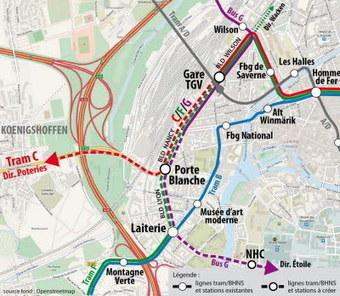 La gare, toujours en ligne de mire du collectif | Strasbourg Eurométropole Actu | Scoop.it