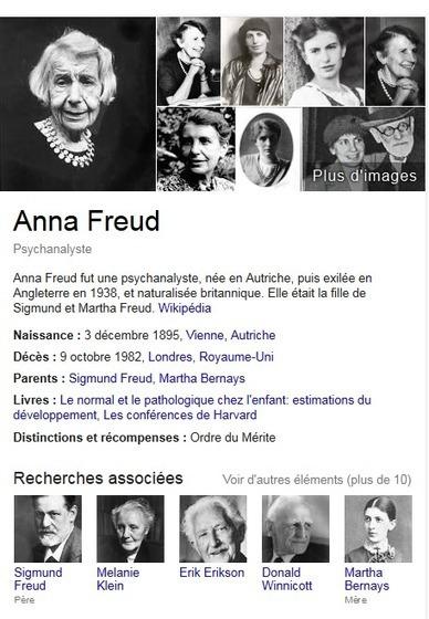Doodle du jour :  Il y a 119 ans naissait Anna Freud (Google) | Méli-mélo de Melodie68 | Scoop.it