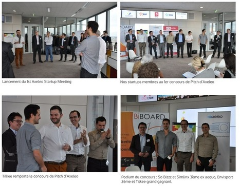 1st Axeleo Startup Meeting : Tilkee, grand gagnant du 1er concours de pitchs d'Axeleo | Actu de l'écosystème d'Axeleo | Scoop.it