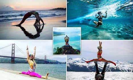 Yoga Teacher Performs Her Art Around The World In Stunning Pics | Everything from Social Media to F1 to Photography to Anything Interesting | Scoop.it
