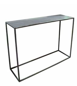 Dadra | Consolas de hierro estilo industrial y forja | CONSOLA CUBO EN HIERRO | Muebles de estilo industrial de hierro | Scoop.it