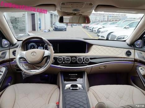 Mercedes-Maybach S400 & S600 launched on the Chinese car market | Wunderman China Auto Marketing News | Scoop.it