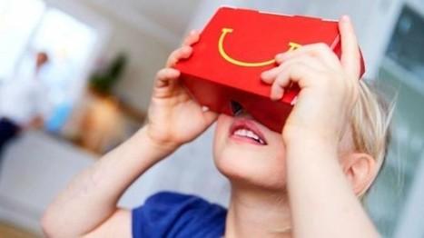 Réalité virtuelle : McDonald's transforme les Happy Meal en Cardboard | Digital Smart Insights | Scoop.it