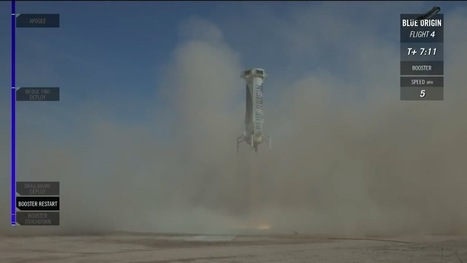 Blue Origin flies New Shepard again | SpaceNews.com | The NewSpace Daily | Scoop.it