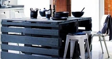 Trucs déco à faire avec des palettes de bois qui sauveront votre porte-feuille! | Mes Actus | Scoop.it