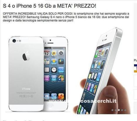 Iphone 5 e S4 a metà prezzo con spedizione gratis su Prezzo Felice! | News | Scoop.it