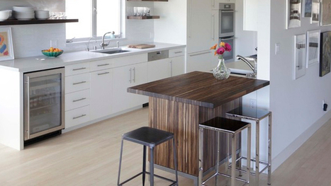 15 Small Kitchen Tables in Different Kitchen Settings | Home Design Lover | Kitchen Design - Functional Ergonomics | Scoop.it