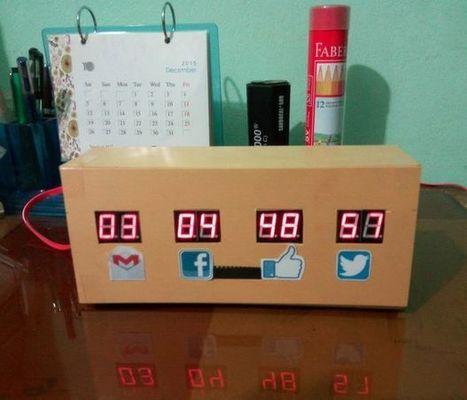 Raspberry Pi Desk Notifier | FabLab - DIY - 3D printing- Maker | Scoop.it