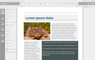 tutory.de - Arbeitsblätter online gestalten | sub specie eternitatis | Scoop.it