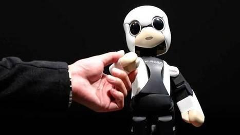 Kirobo: primer robot japonés en el espacio ~ Quantum-RD | mecatronica | Scoop.it