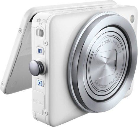 Canon announces PowerShot N Facebook ready edition: Digital Photography Review | photography | Scoop.it