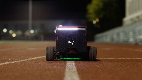 Puma built a fast robot to race fast humans | Sports Engineering | Scoop.it